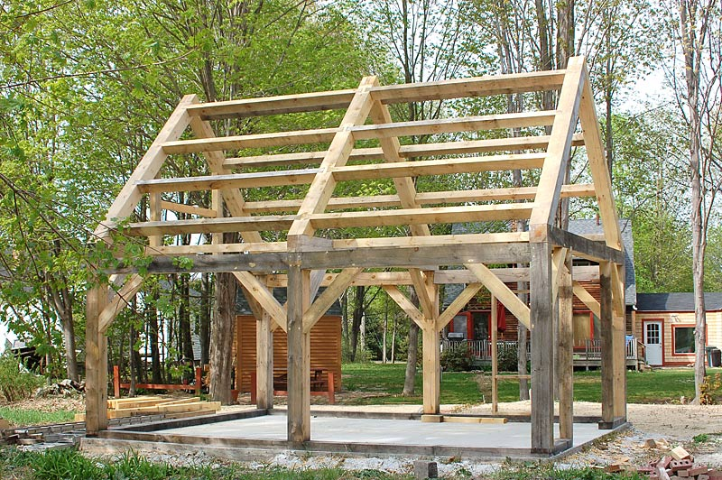 Barn kits for Timber frame cottage kits